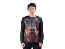 Cut & Sew Long Sleeve T-Shirt
