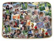 Fasciatoio neonati con collage foto
