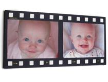 Filmstreifencollage Baby Taufgeschenke