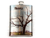 Flasque personnalisée cadeau de Noël pour papa