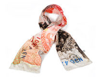 fleece sjaal gepersonaliseerd