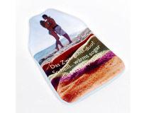 Fleecebezug für Wärmflasche mit Foto