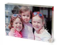 Foto in cornice acrilica foto dei figli