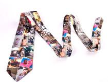 foto collage su cravatte personalizzate