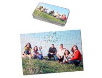 Fotopuzzle Kinderfotos drei Puzzles