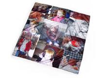 Foulard con foto collage