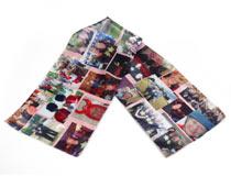 Foulard personalizzato con collage