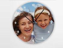 Horloge ronde photo cadeau de noel pour mama