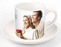 Juego de tazas de café personalizado