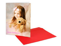 Large Photo Greeting Card