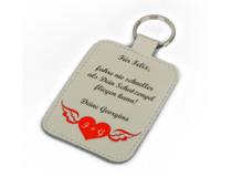 Llavero con foto romantica de San Valentín