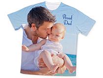 Maglietta T-shirt personalizzata per papà