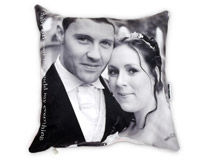 Mr & Mrs 25th Anniversary Cushion