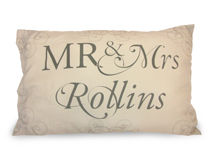 Mr & Mrs 30th Anniversary Pillowcases