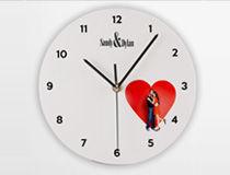 Orologio rotondo da parete San valentino