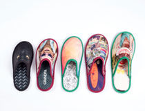 Pantofole personalizzate colorate
