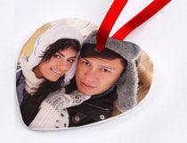 Christmas Ornaments as personalised Christmas decorations