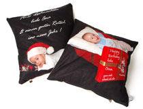 personalised cushions at Christmas