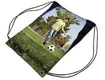 personalised drawstring sports bag