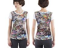 Personalised Ladies T-Shirt