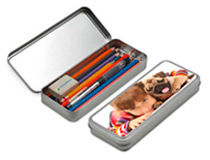 Personalised Pencil Tin Box