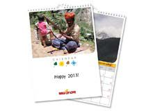 personalised photo 2013 calendar