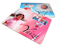 personalised photo placemats