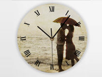 Personalised Round Clock
