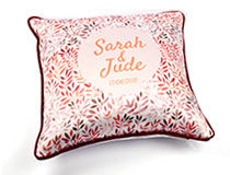 Personalised Silk Cushions