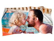 Personalisiertes Badetuch für Männer