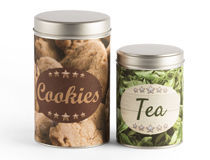 Personalized Cylinder Tin