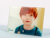 personalized glass picture frames