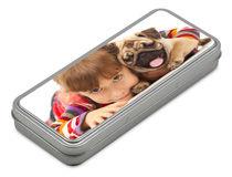 Personalized Pencil Case Tin Box