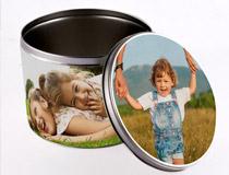 Personalized Round Tin