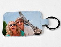 Porte-clés photo cadeau de noel pour copain
