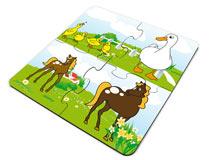 Puzzle 4 pezzi personalizzato con foto