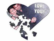Puzzle in Herzform ich liebe dich