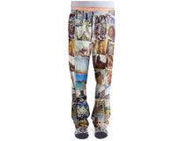 pyjamasbyxor med tryck
