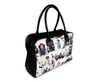 Reisetasche mit Fotocollage