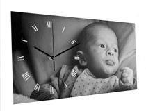 Reloj de Pared personalizado con fotos y texto