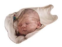 Sacco a pelo personalizzato per neonato