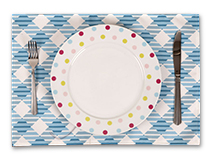 set de table tissu