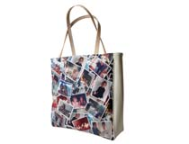 Shoppertasche mit Collage