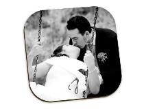 Sottobicchieri personalizzati con foto matrimonio