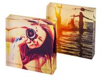 stampa foto Instagram su cornice acrilica