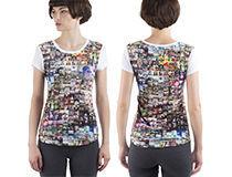 T-shirt femme cintré cadeau de noel original