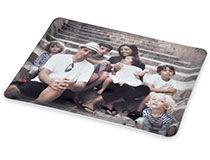 Tablett mit Fotos