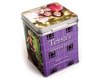 Teedose für Teetrinkerinnen