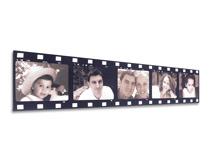 Tela effetto pellicola cinema personalizzabile online con le tue fotografie