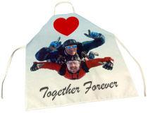 Valentines man apron
